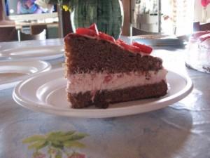 torta cioccofragolosa