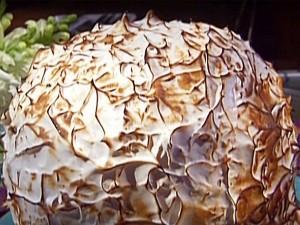 torta Alaska al cioccolato
