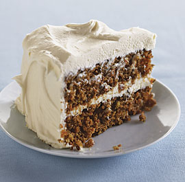 Motheras Carrot Cake With Cream Cheese Frosting Recipe — Dishmaps