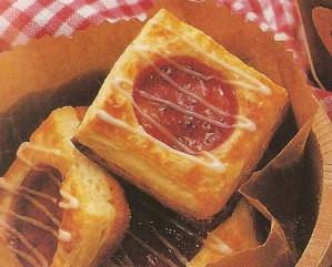 sfogliatine con marmellata