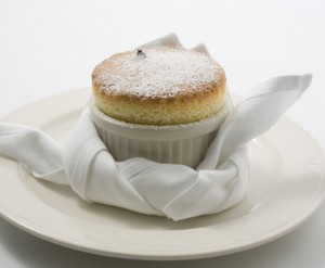 soufflé all'arancia