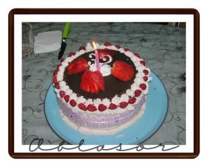 torta incanto di fragole e mandorle