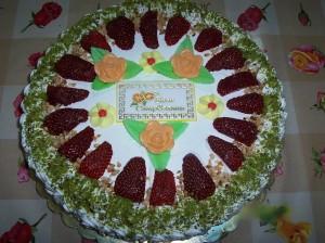 Torta mille fragoloni