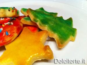 Biscotti colorati di Natale
