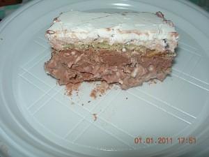 torta gelato al pandoro