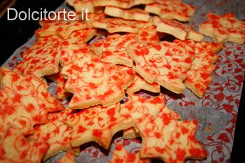 Biscotti decorati con semplicità