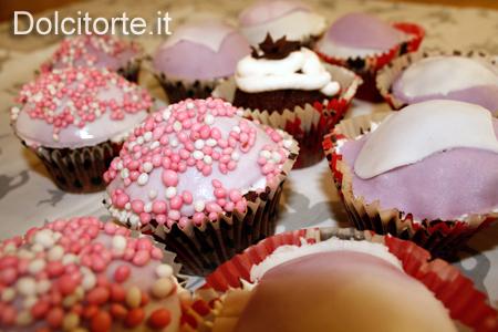 Cupcakes di San Valentino - Decorazioni