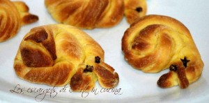 Les escargots con pasta briosche