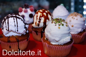 Cupcake con gelato