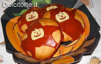 mini tortine di Halloween