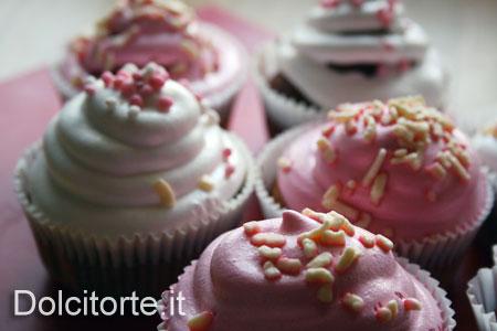 cupcakes al cioccolato bianco