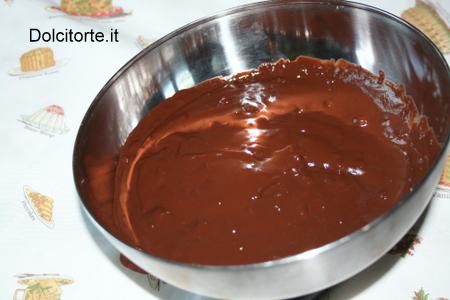 Crema al cacao senza uova