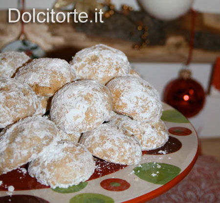 Biscotti di Natale, Palle di Neve